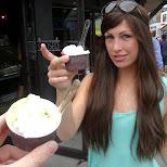 gelato at Kensington Market in Toronto, Ontario, Canada