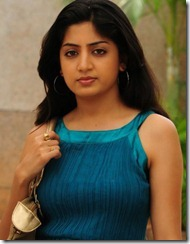 poonam_kaur_latest_in blue dress