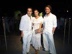 Fernando Moncho Lobo, Mariana Reutemann, y Chris Reekie. Foto: Mirabaires.