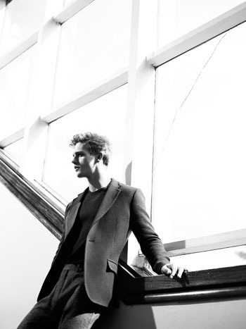 VGLMen.com | Benjamin Eidem by Willy Vanderperre for COS F/W 2011. Styled by Olivier Rizzo