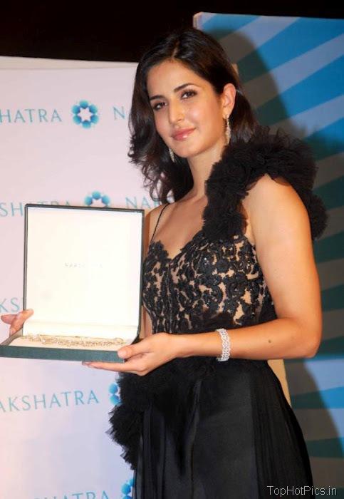 Katrina Kaif Beautiful Pics in Black Lace Dress 3