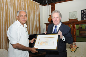 With Quebec Prime Minister Mr Jean Charest