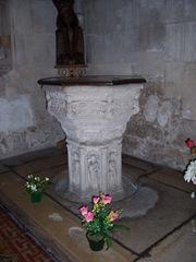 2011.09.30-002 fonts baptismaux de l'église St-Ouen