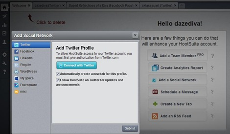 hs social network