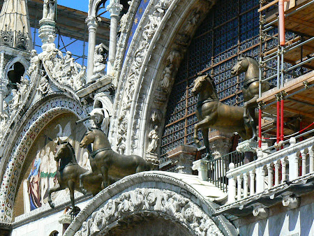 Obiective turistice Venetia: Caii de la Palatul Dogilor