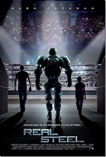ดูหนังออนไลน์ real steel ศึกหุ่นเหล็กกําปั้นถล่มปฐพี [HD Master]