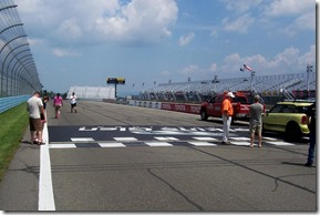 Start/Finish Line - Watkins Glen International looking toward turn one