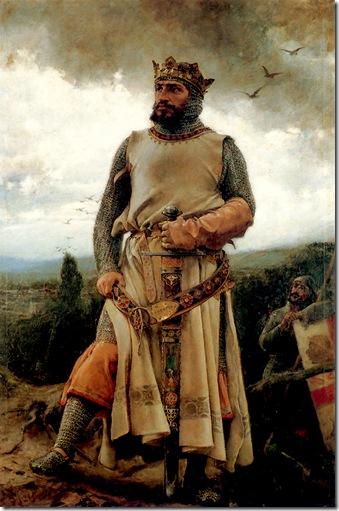 Francisco Pradilla Ortiz -Alfonso I de Aragón 1879
