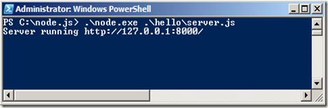 Run in Powershell