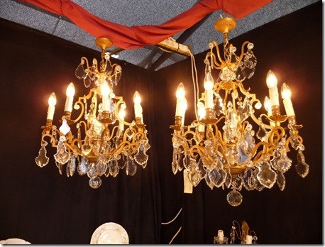 My twin chandeliers