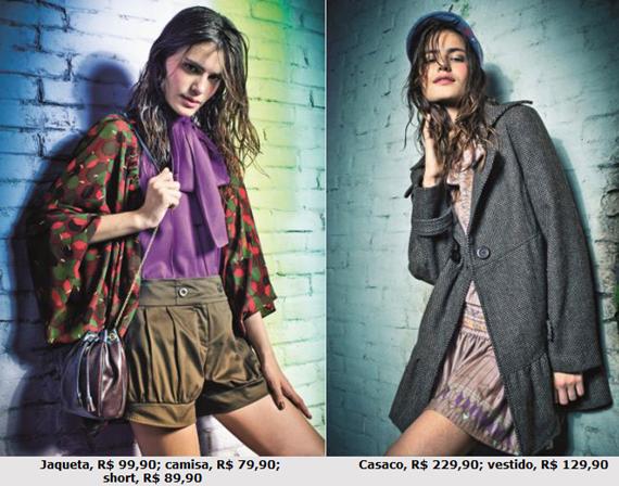 Juliana Jabour para Riachuelo: Inverno 2012 – Fotos da coleção exclusiva.