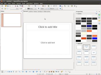 la nuova Sidebar di Apache OpenOffice 4.0