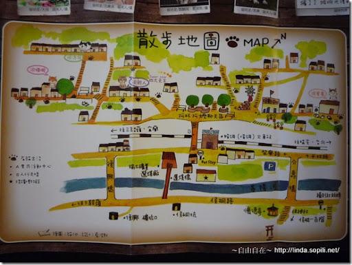 猴硐(侯硐)-散步地圖