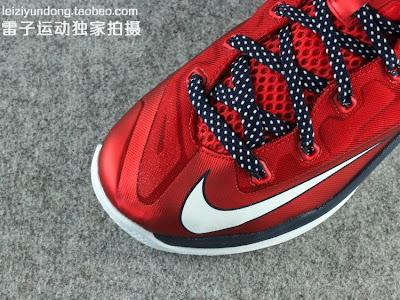 nike lebron 11 low gr red black 1 04 This LeBron 11 Low Dipped in USA Colors Drops in June