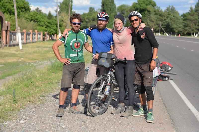 Reintalinrea cu Enzo dupa 3000 de kilometri, de data aceasta din sens opus.