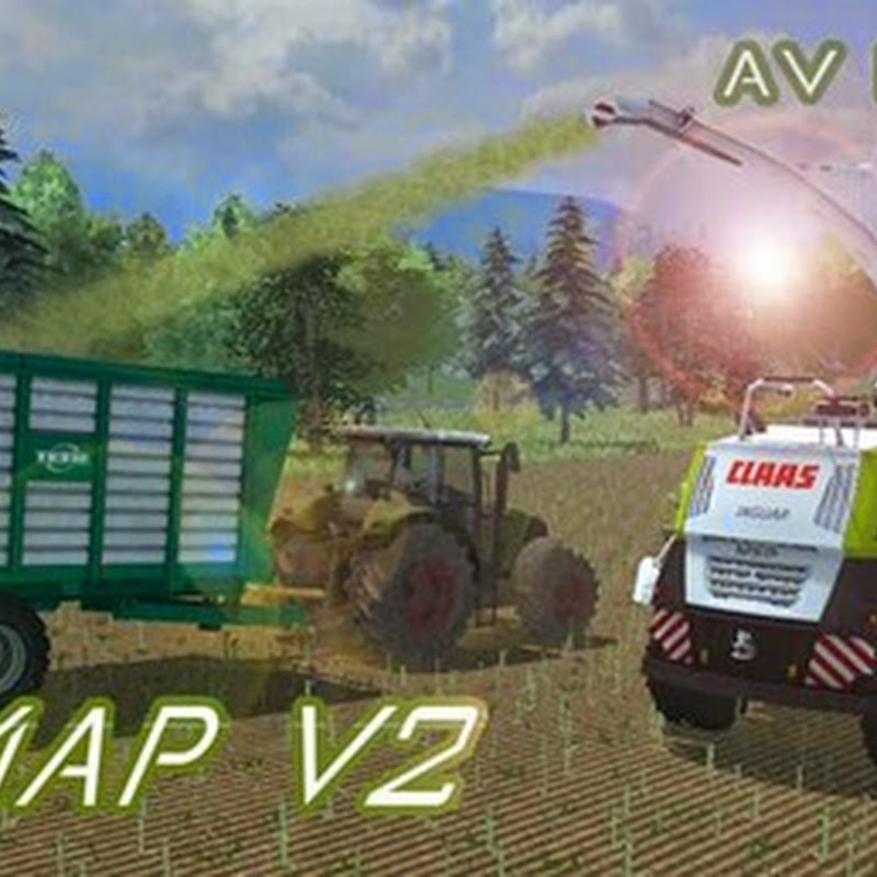 Farming simulator 2013 - AV Map 2013 v 2.0
