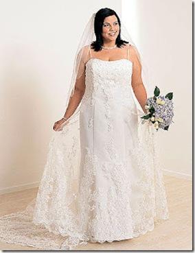 vestidos para novias tallas extras imagenes