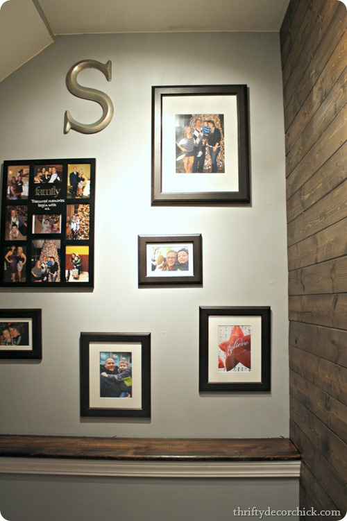 matching frames gallery wall