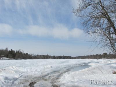 Straight Lake April 3 2013