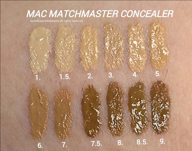 MAC MatchMaster Concealer Stick; Review & Swatches of Shades