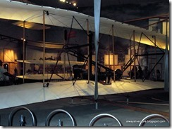 A View of the Wright Brother's Plane