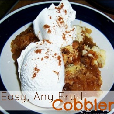 Easy, Any Fruit Cobbler
