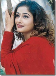 kiran rathod in red dress