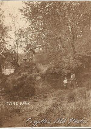 Artso Postcard Irvine Park PR Antiques