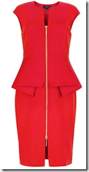 Ted Baker Structured Zip Dress