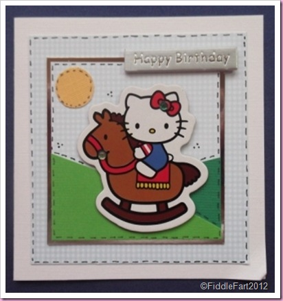 Hello Kitty card..