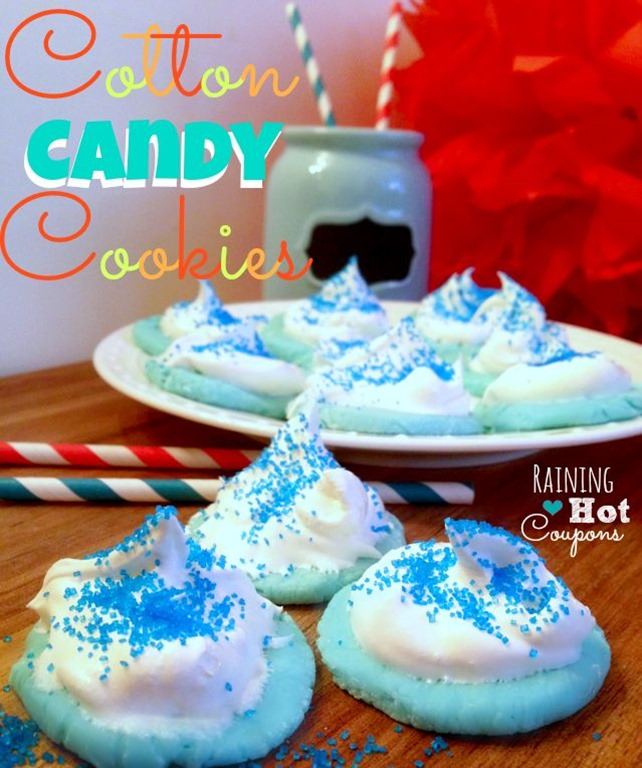 cotton candy cookies