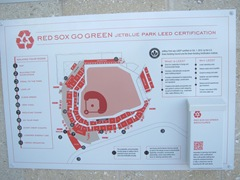 Florida 2013 Placque certification Red Sox park