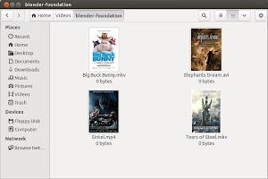 MovieThumbs su Nautilus in Ubuntu Linux