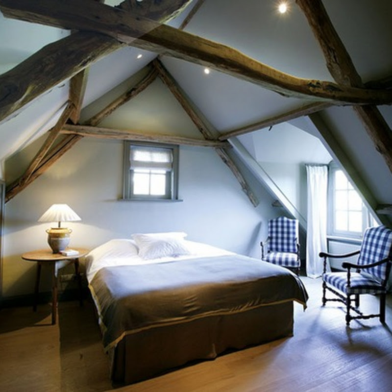 Bedrooms in the Belgian style