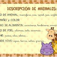 Descripción de animales