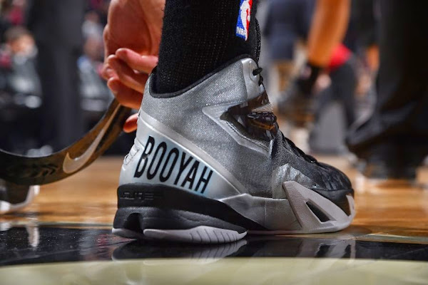 Danny Green Wears Soldier 8 Custom in Tribute to Stuart Scott