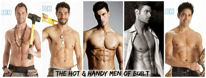 The hot and handy men of built