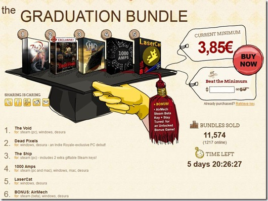 Indie Royale The Graduation Bundle