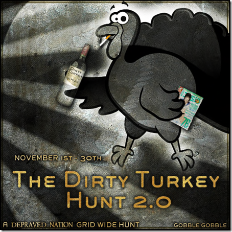 dirty-turkey-2-hunt-sign-bw