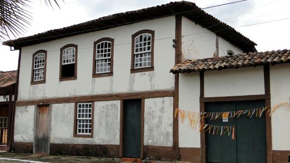 Casas históricas - Santana dos Montes