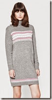 French Connection Fair Isle Knit Jumper Dress