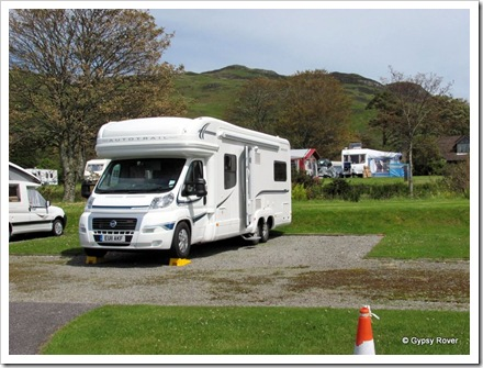 Gypsy Rover at  North Ledaig Caravan Park.