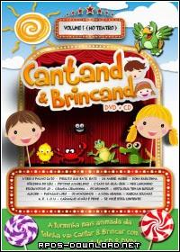 54735434a2cfc Cantando & Brincando Vol. 1 Nacional RMVB + AVI DVDRip