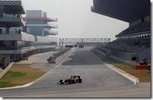 Ci saranno due zone DRS nella gara in India
