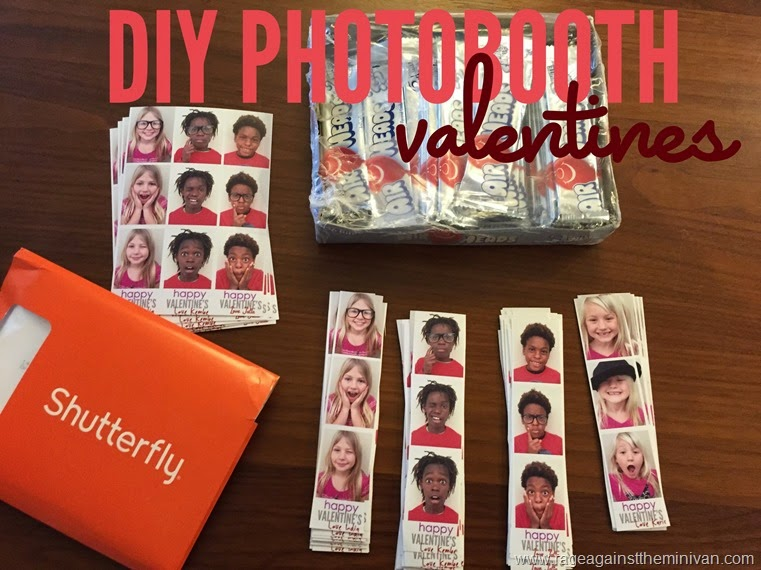 DIY photobooth valentines that are cheap and easy to make