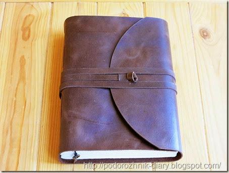 Винтажный кожаный блокнот-1