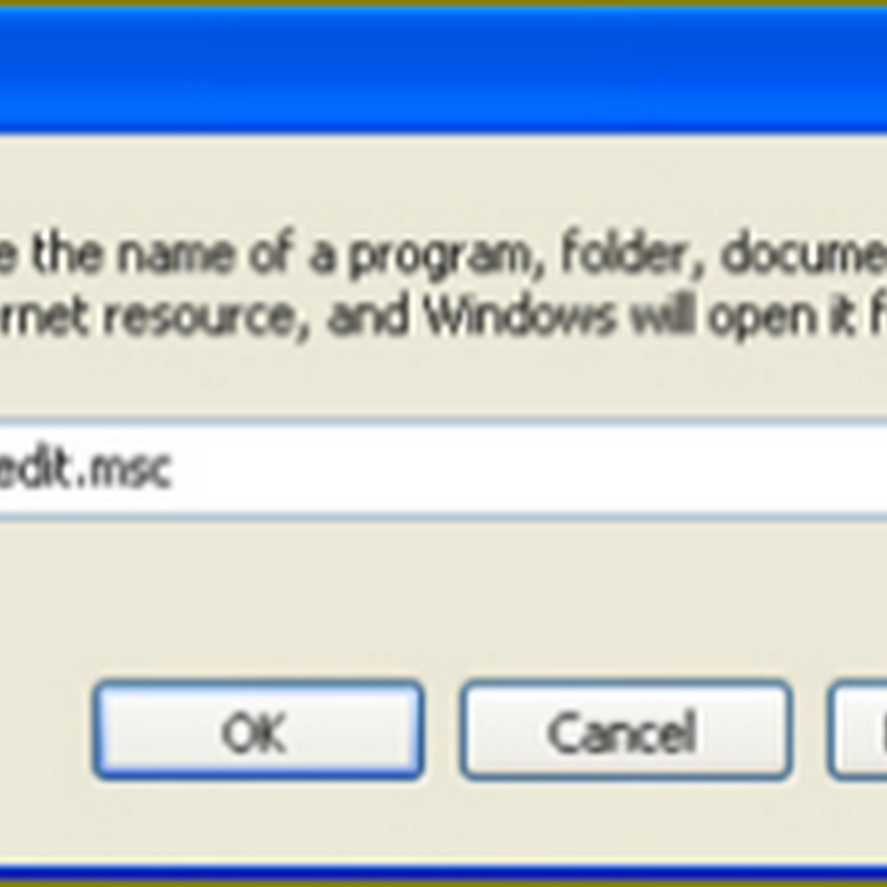 ปิดการทำงาน Autorun ใน Windows xp