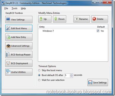 บันทึกช่าง Dell N4010 ติดตั้ง Windows 7 และ Ubuntu 12.04 ตอนจบ