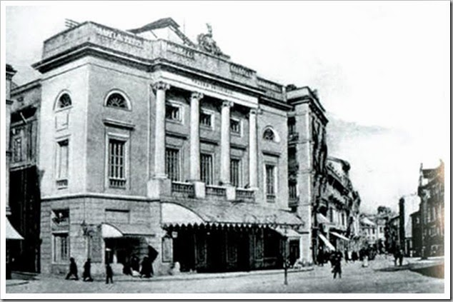 Valencia en blanco y negro teatro principal enrique for Teatro principal valencia