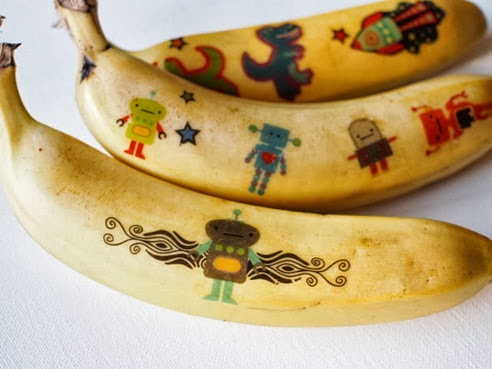 1 tattoo banana